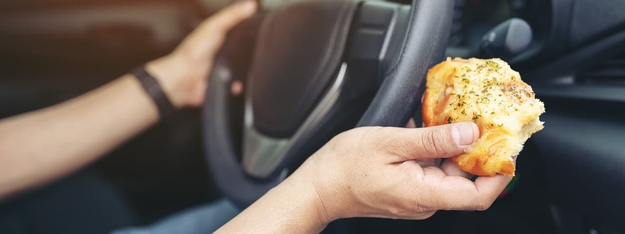 Can I Eat While Driving?