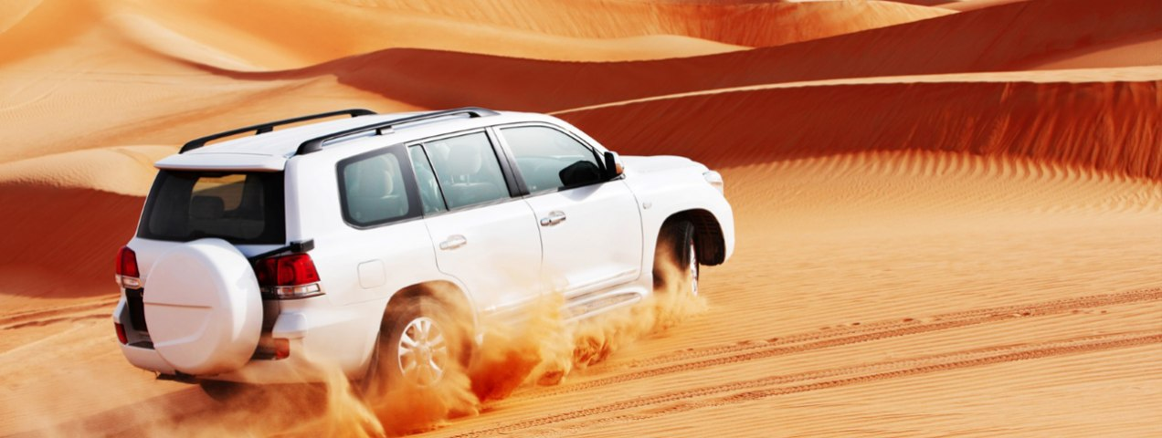 Top Four 4-Wheel Drive Vehicles for Desert Safaris in the UAE