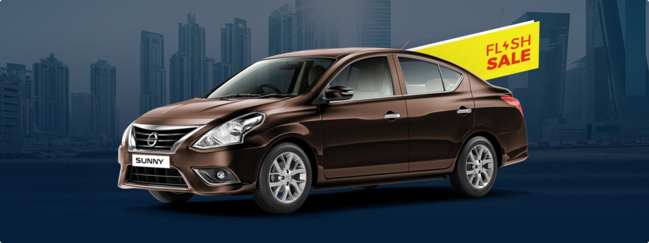 Nissan Sunny for AED 49.99 per day