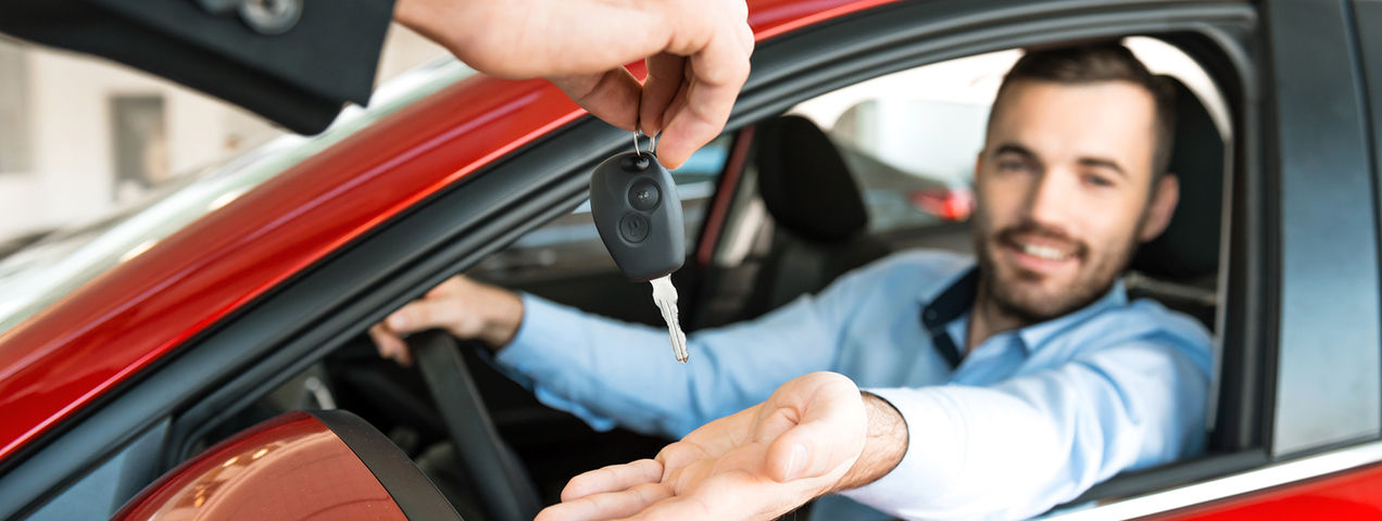 Leasing a car is as easy as 1,2,3